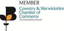 Coventry and Warwciskhrie Chamber of Commerce Member