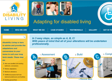 Disability Living Web Page